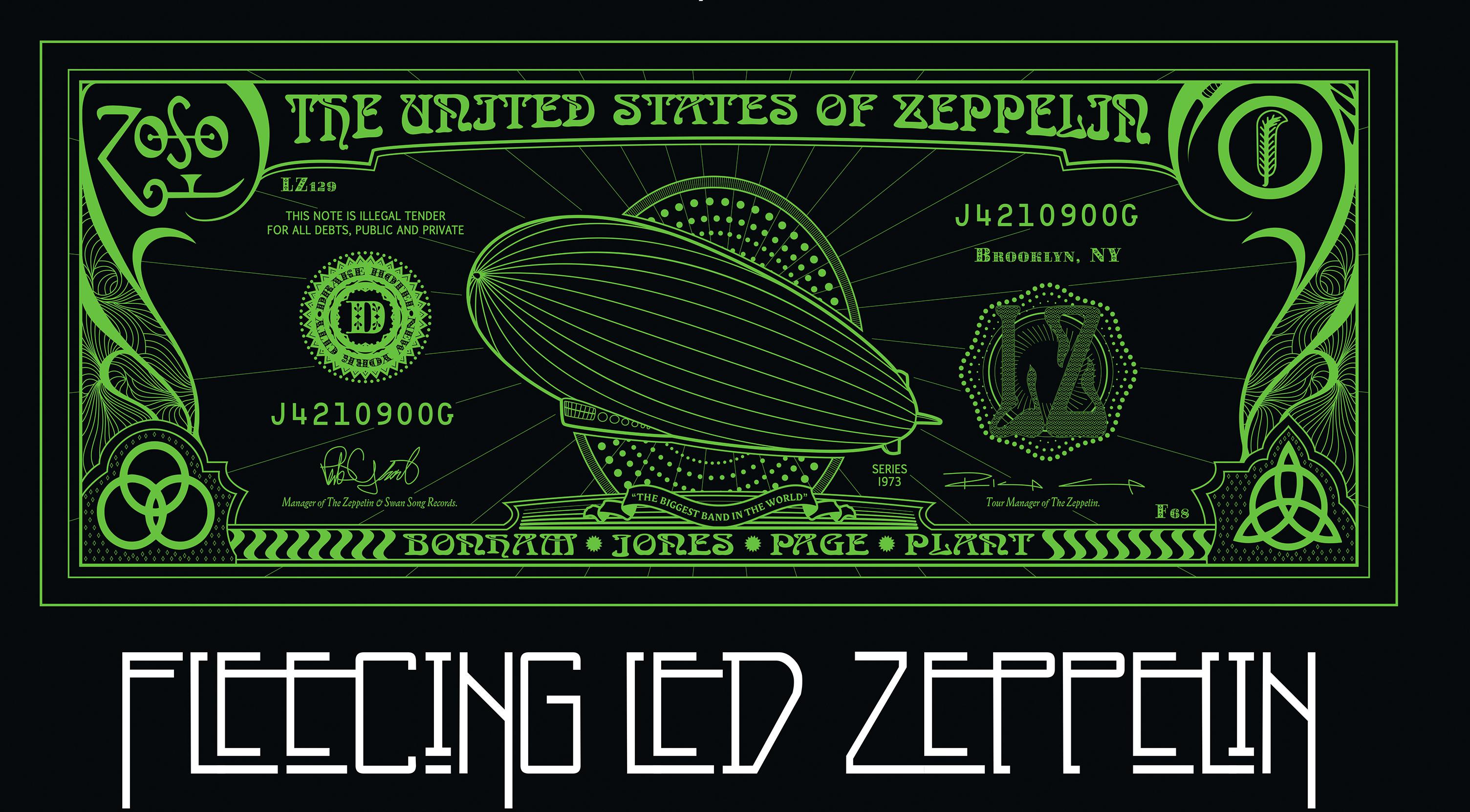 Fleecing Led Zeppelin Indiegogo