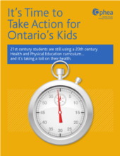 Report: It's Time to Take Action for Ontario's Kids