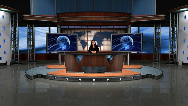 tv studio furniture. studio furniture sample virtual reality breaking confines limited space giving illusion much larger more expensive tv