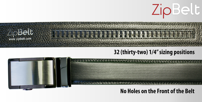 Zipbelt Ratchet Style No Holes Adjustable Belt Indiegogo