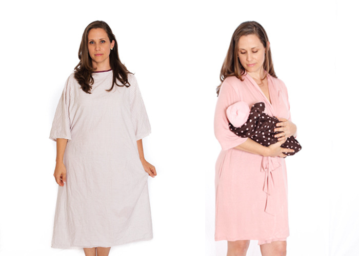 The Original Mommy Brobe for Pregnant and Nursing Mothers | Indiegogo
