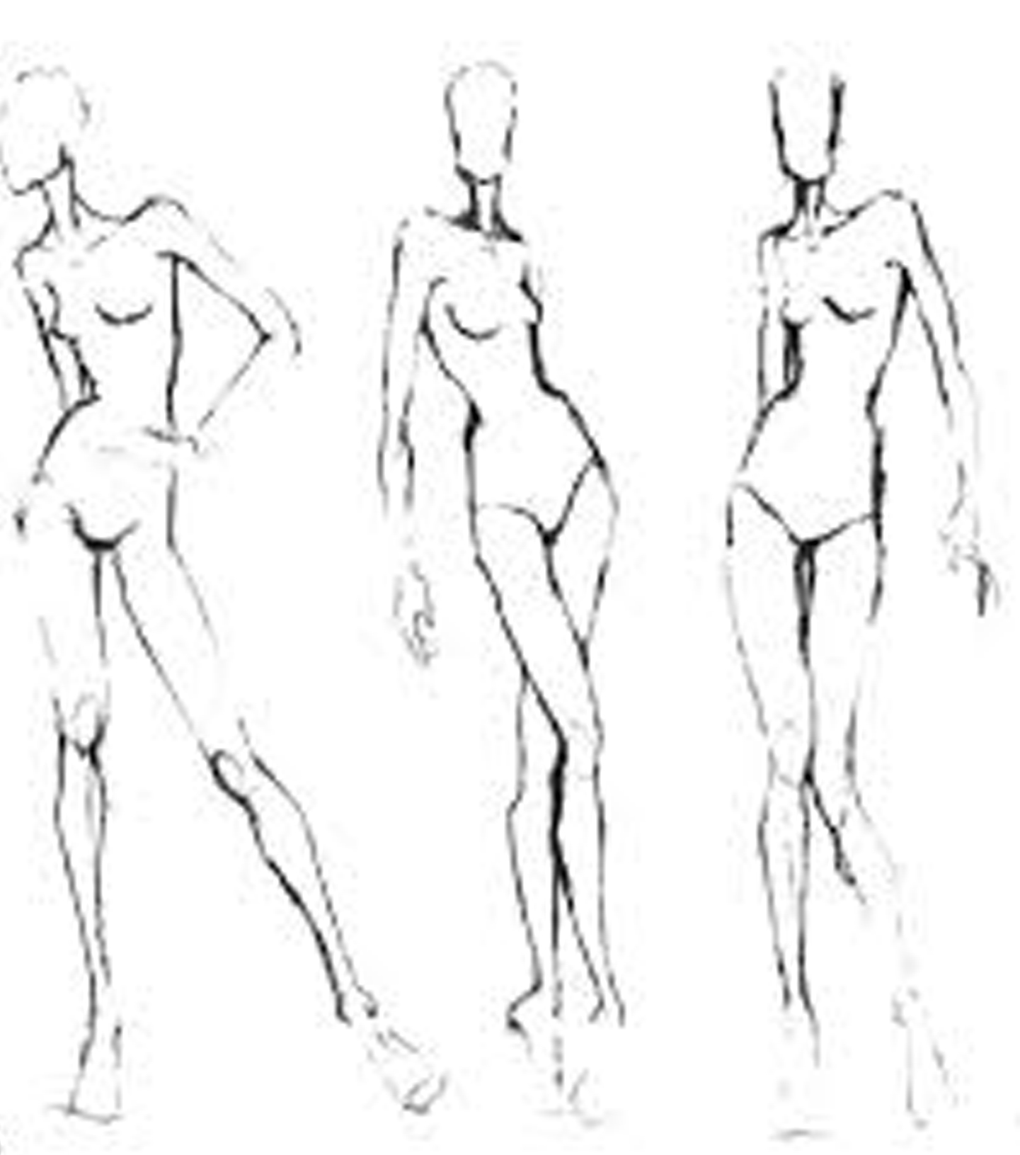 Learn how to draw woman female girl body Figure Step by
