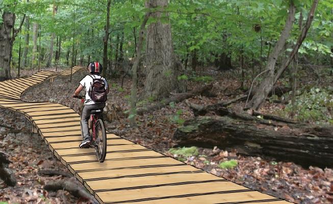 Build gateway green indiegogo for Portland maine bike trails
