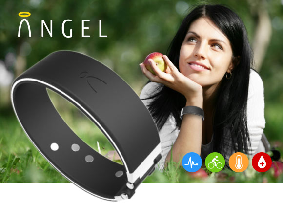 Angel biometric armband gadget