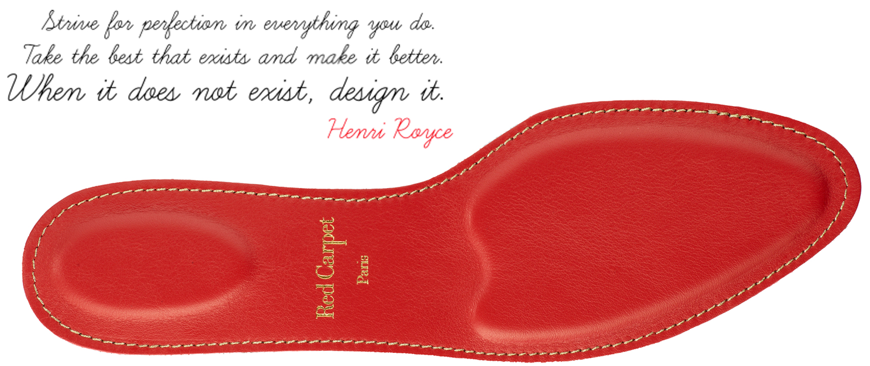 Red Carpet Paris Insoles Comfort And Glamour In High