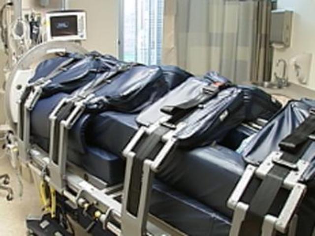 Upside Down Hospital Bed
