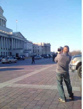 Ed at the Capitol