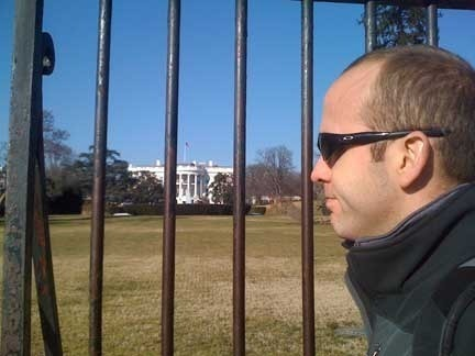 Ed at the White House