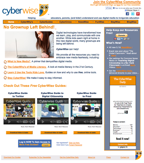 CyberWise Website