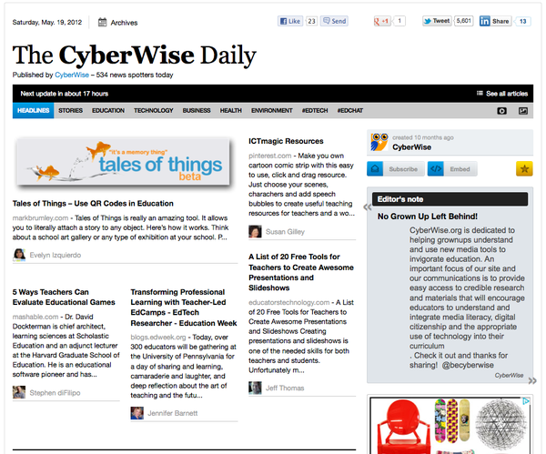 The CyberWise Daily e-news