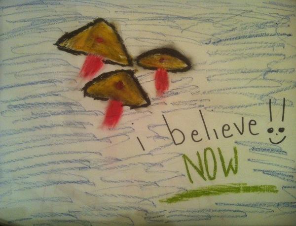 Christina's 3 UFOs.
