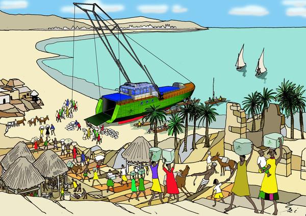 S/V Greenheart - Cargo/Beach
