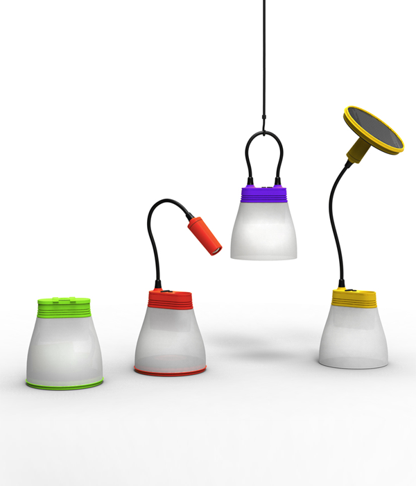 Bell lamp from Bright, designed by K8