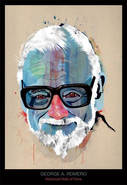 Romero Art Print