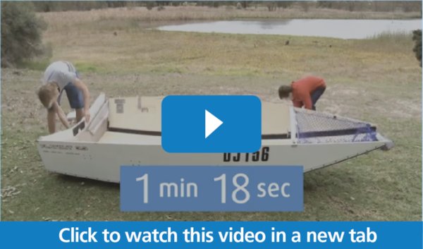 Video Thumbnail for Time Lapse of Boat Building