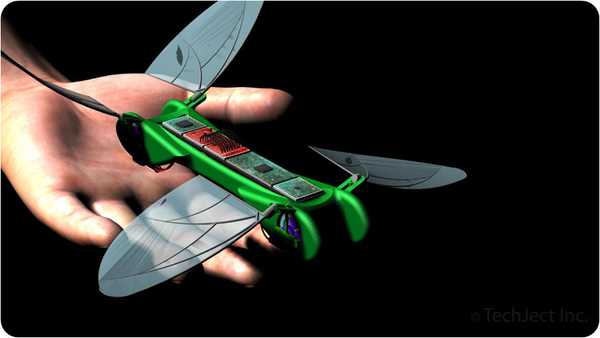 robot dragonfly micro aerial vehicle indiegogo