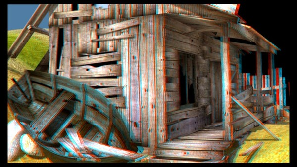 One of the very first stereometric tests for this project. Put on a pair or 3D glasses and try it out.