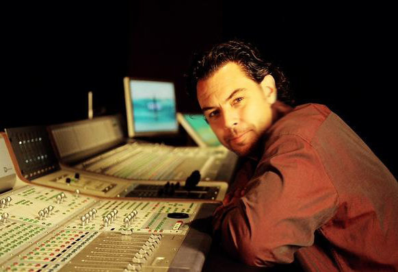 Jerry at the console