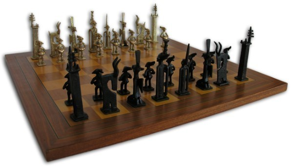 Chess Game - African Figures