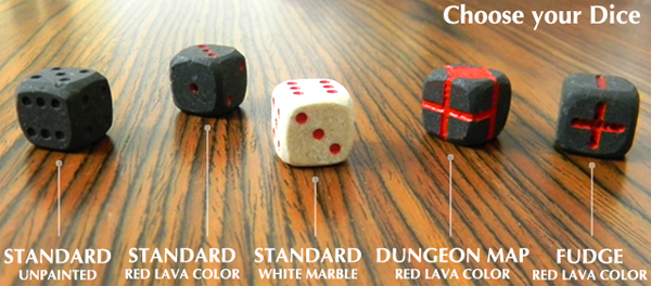 Choose your dice