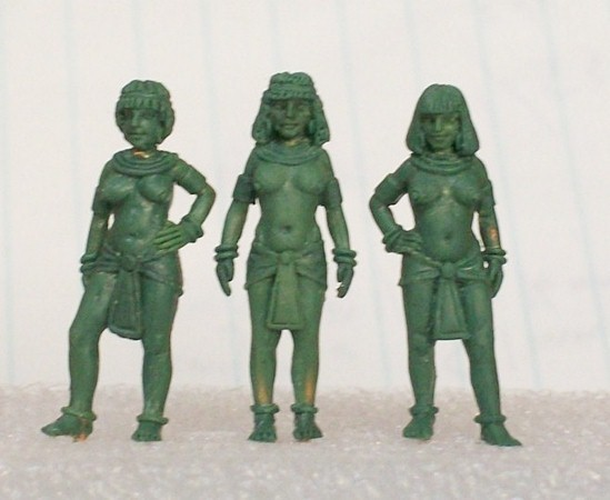 Front View of the Egyptian Harem Girls