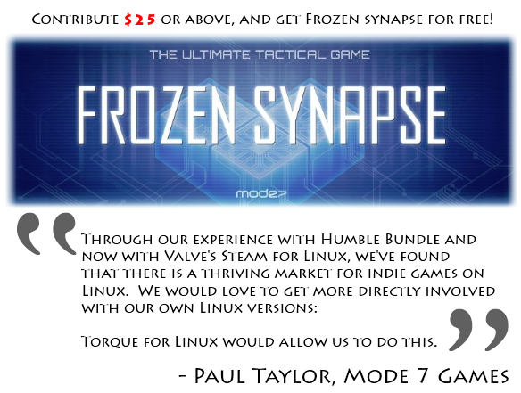 $25 + Get Frozen Synapse for Free