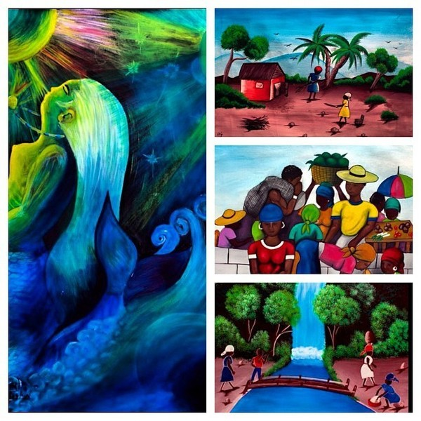 Edike Ayiti Artwork