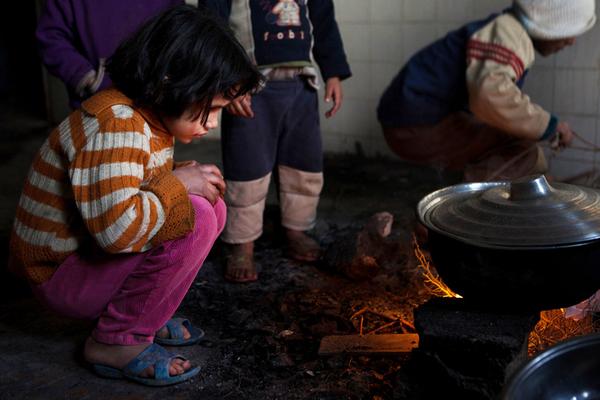 Syrian refugee in Kurdistan