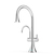 Acacia Tri-Flow Faucet Brushed Nickel Large