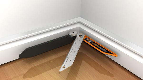 how to cut skirting board angles