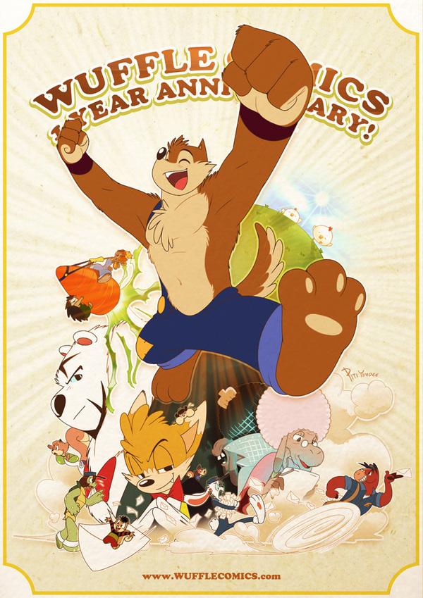 Wuffle : 1 Year Anniversary