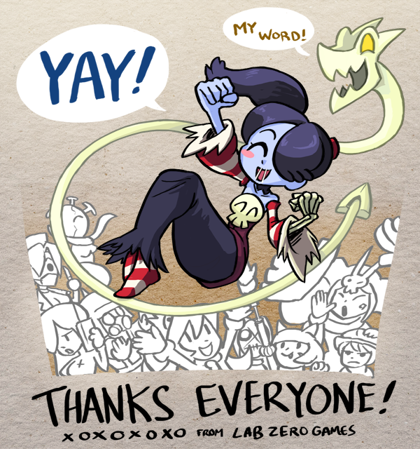 Squigly thanks you!