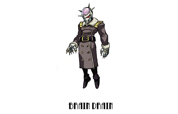 11th MYSTERIOUS CHARACTER: Brain Drain
