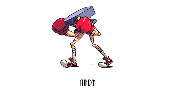 Twelfth MYSTERIOUS CHARACTER: Andy Anvil!