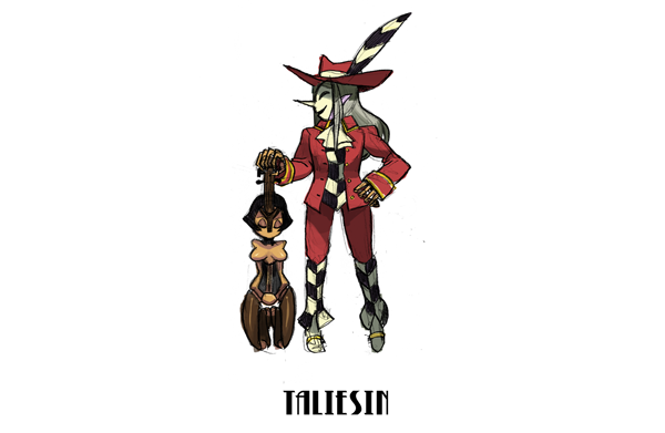 14th Mysterious Character: Taliesin