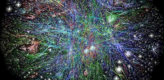 Internet fractal pattern