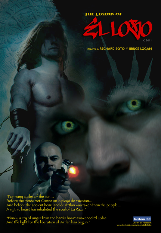 The Legend of El Lobo onesheet.