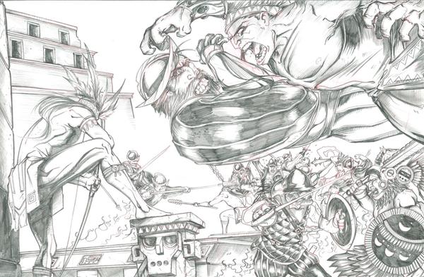 El Lobo Comic page!