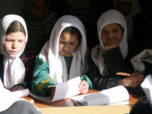 Afghan children appreciate learning.