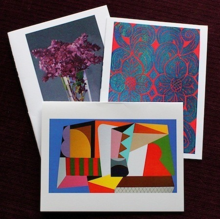 3 Greeting Cards with a donation of $10