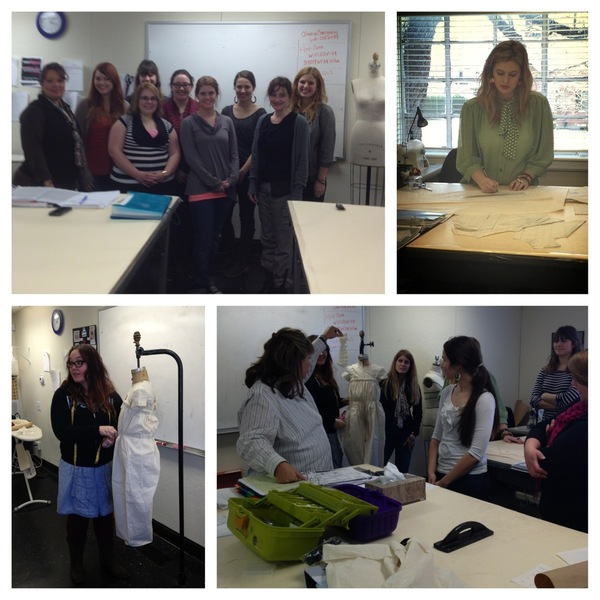 O'More Fashion Students designing aDARable