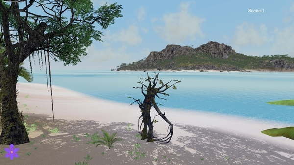 Ent on the beach in Wander