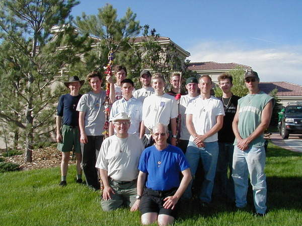 Carl and Bruce with MEC participants