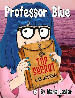 cover to the first Professor Blue book