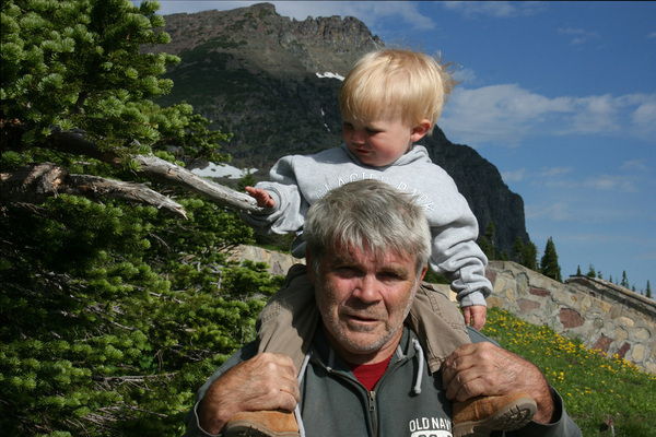 Grayson and I in the Mountains