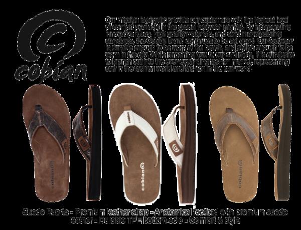 Men's $75 perk - Cobian Suede Puerto Sandals