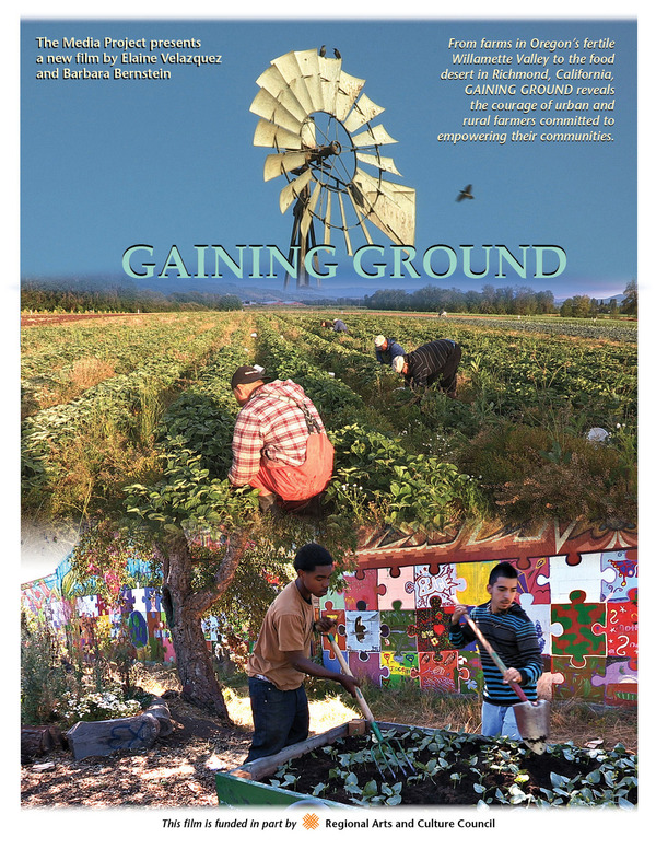 Gaining Ground Poster