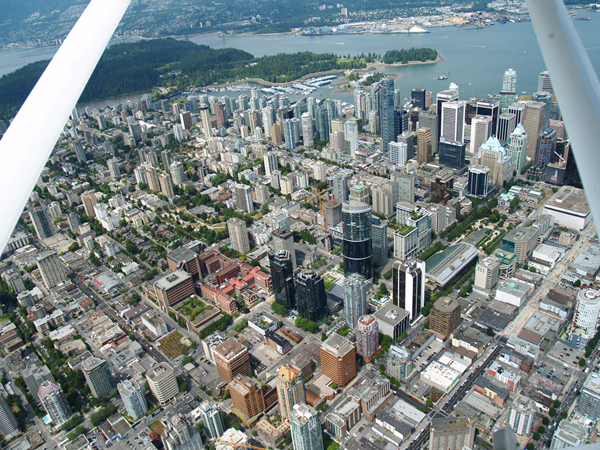 Downtown Vancouver Aerial