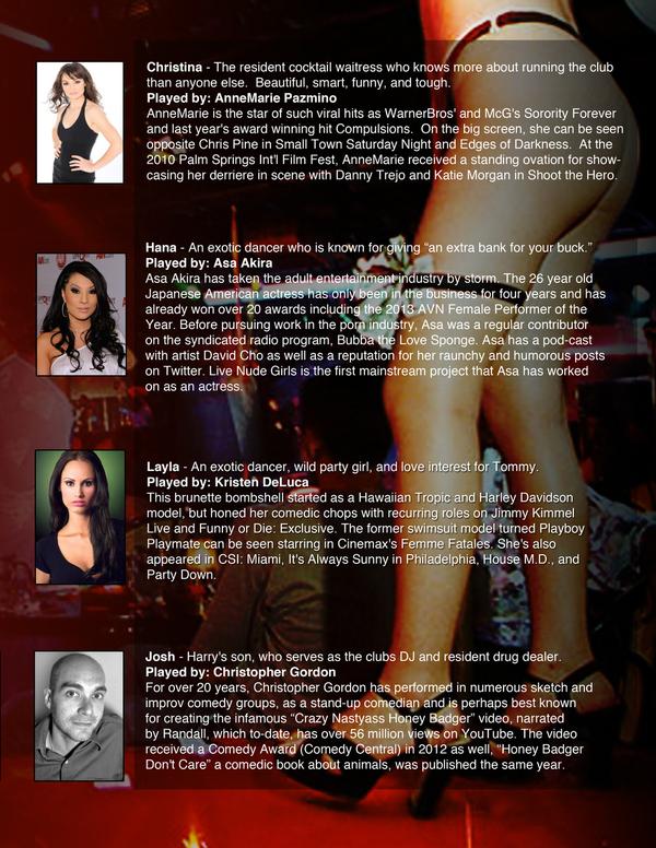 Cast bios 2
