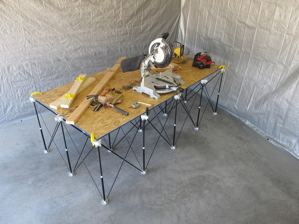 Job Site Work Bench